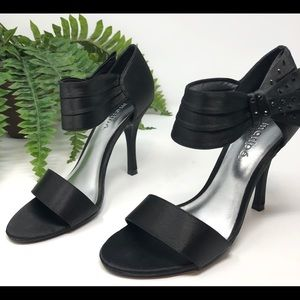 Used Maripe Black High Heel Sandals